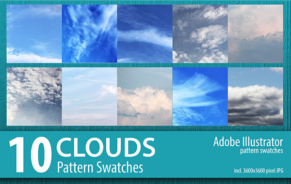 Printable Cloud Design Pattern Set