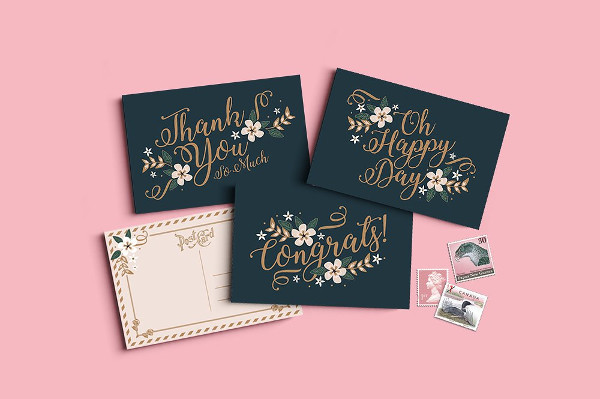 Printable Love Greeting Card Designs