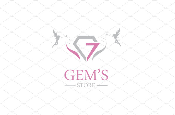 Professional Gems Store Logo