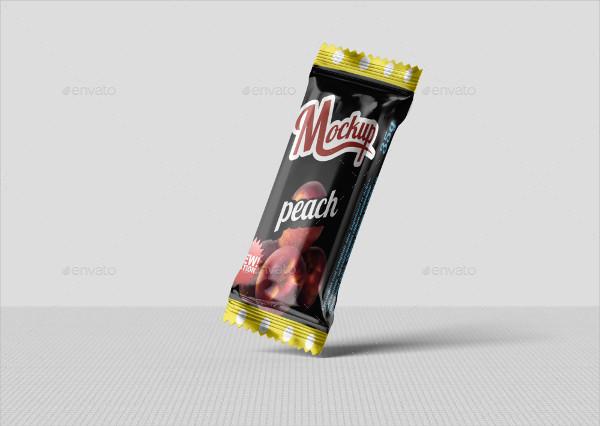 Modern Candy Chocolate Bar Mockup