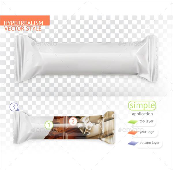 Sample Candy Bar Mockup Template