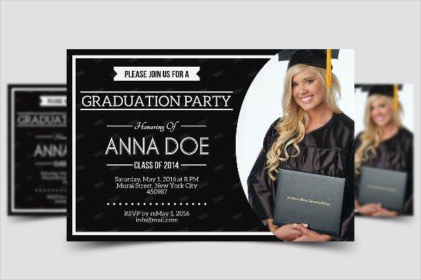 Simple College Invitation Template