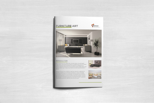 Simple Furniture Business Brochure Template