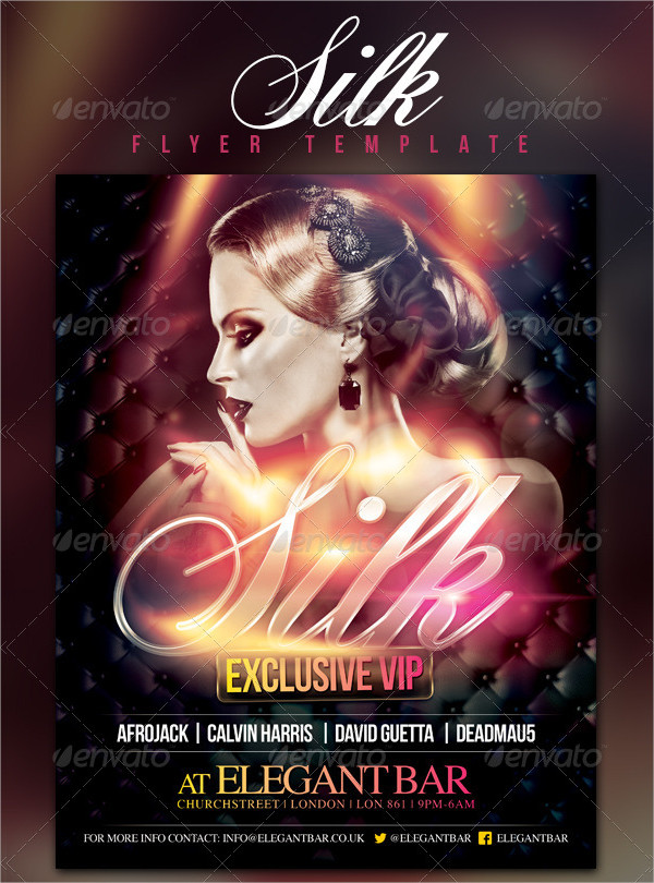 Luxury VIP Flyer Design