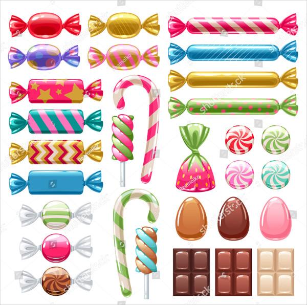 Big Candy Bar Wrapper Mockups