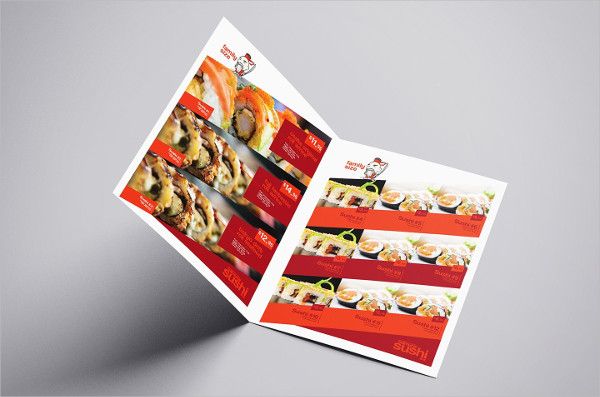Sushi Restaurant Menu Template Pack
