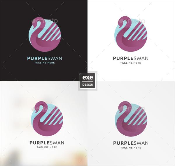 Swan Logo Brand