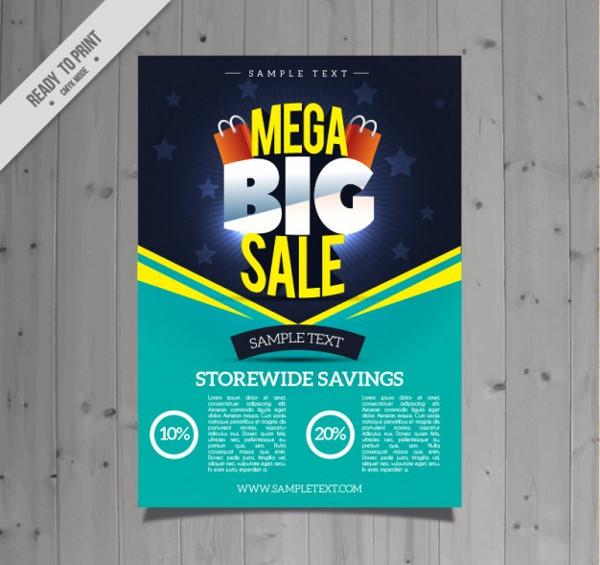 Mega Big Sale Flyer Free Download