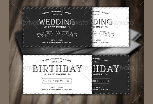 Printable Vintage Invitation Design