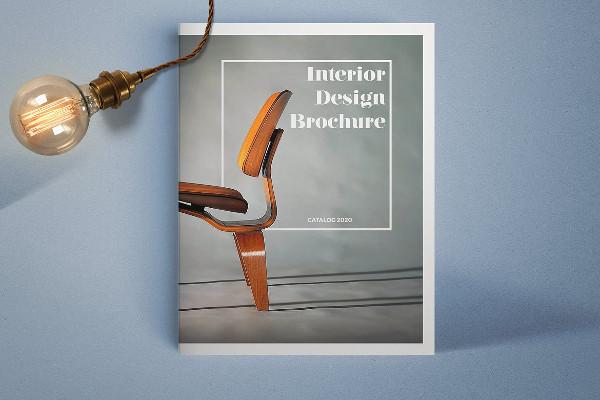 Vintage Interior Design Brochure