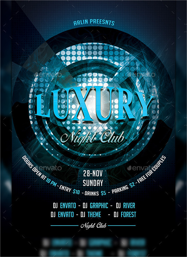 Night Club Luxury Flyer Design
