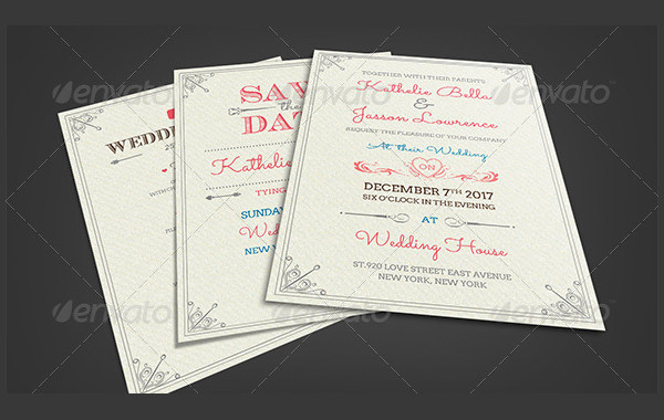 Fresh Royal Wedding Invitations Package