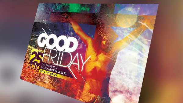 13+ Good Friday Flyers