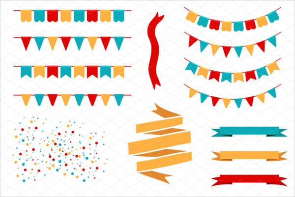 Holiday Bunting Banner Design
