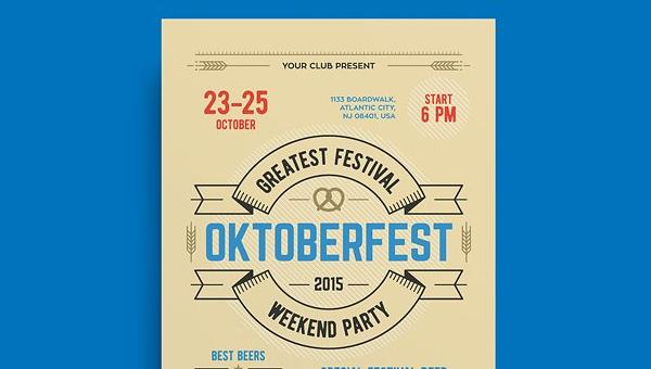 Oktoberfest Poster Design