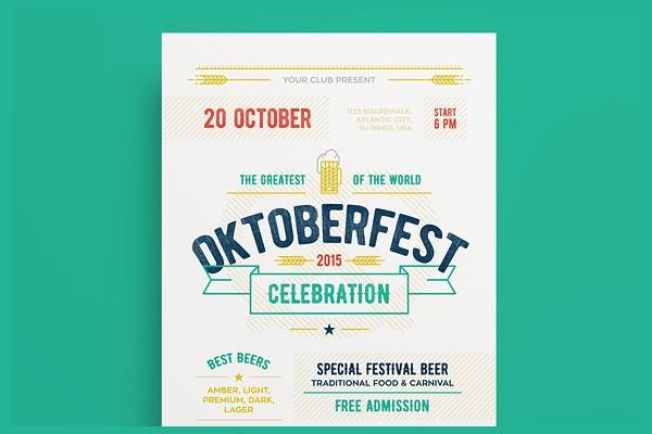 Oktoberfest Beer Festival Poster