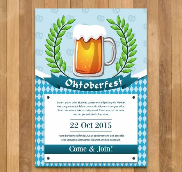 Oktoberfest Poster Template Free Download