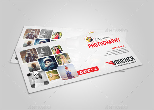 Custom Photography Gift Voucher Template