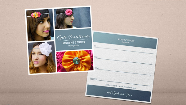Photography Gift Voucher Template 17 Free Premium Download