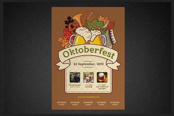 Print Ready Oktoberfest Poster Template