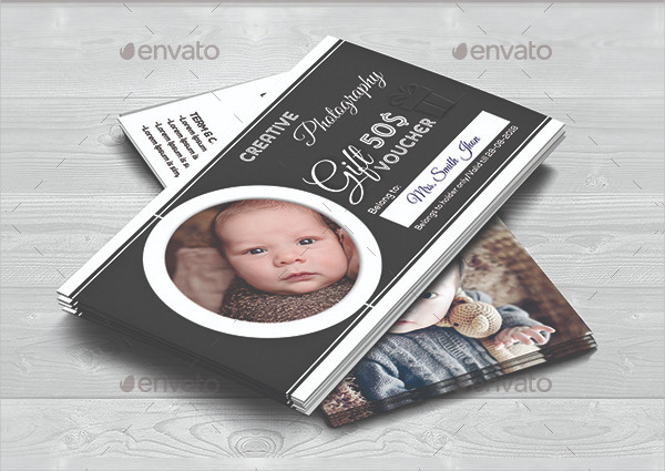 Print Ready Photography Voucher Template