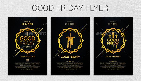 Printable Good Friday Flyer Template