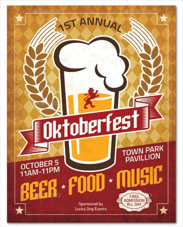 Printable Oktoberfest Poster