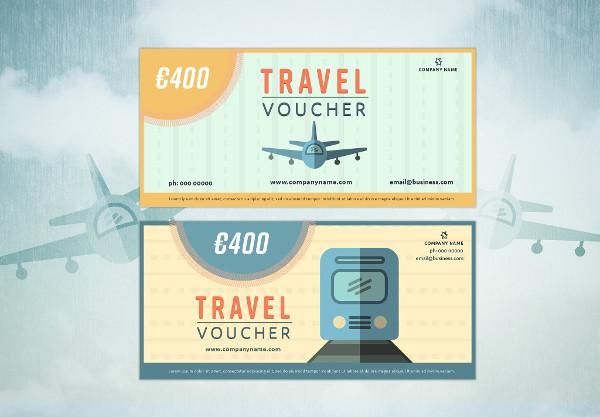 Retro Travel Vouchers