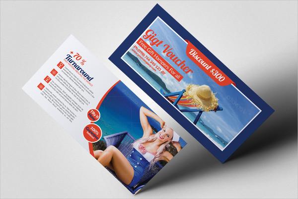 Unique Travel Gift Vouchers Design