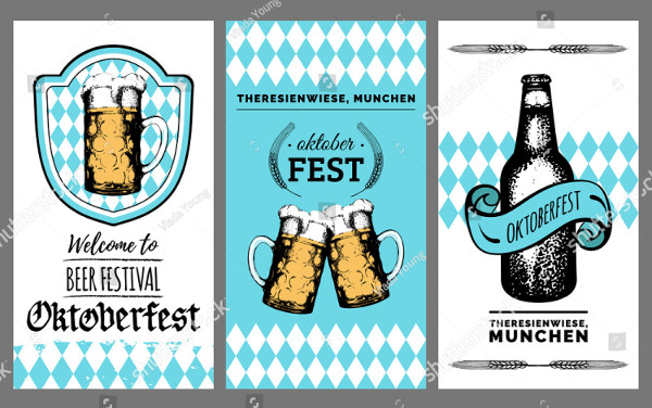 Vector Beer Festival Posters