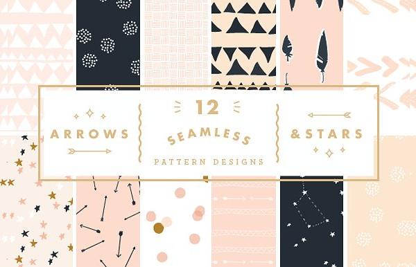 Arrows & Stars Patterns