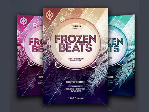 Best Frozen Beats Flyer