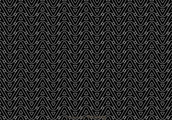 Black And White Wave Pattern Free Download