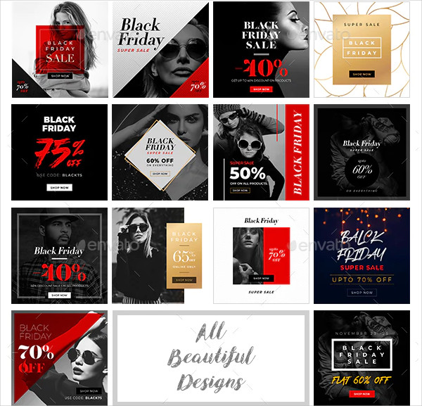 Black Friday Discount Banner Template