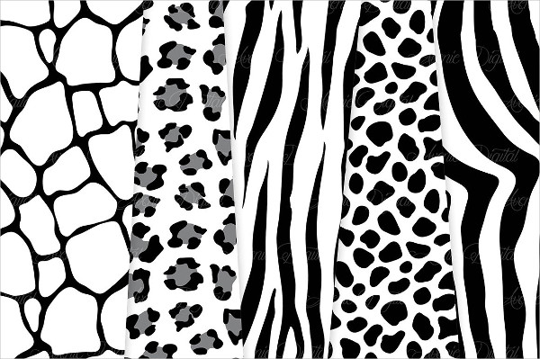 Black and White Animal Prints
