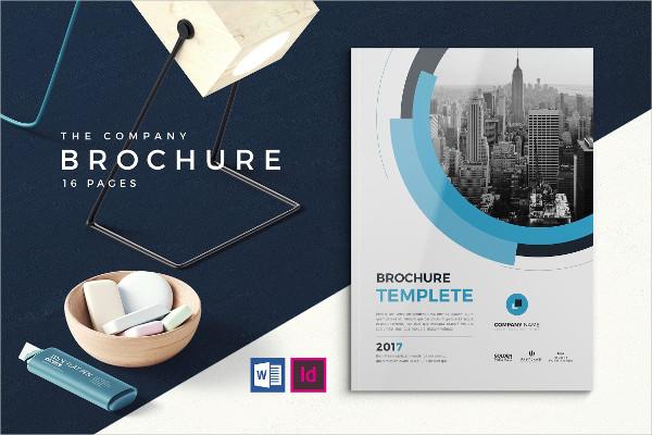 Business Informational Brochure Design