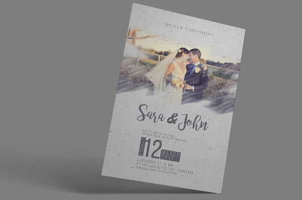 Classic Wedding Announcement Template