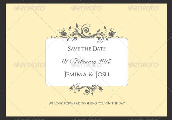 Classic Wedding/Engagement Invite