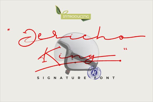 Classy Signature Font