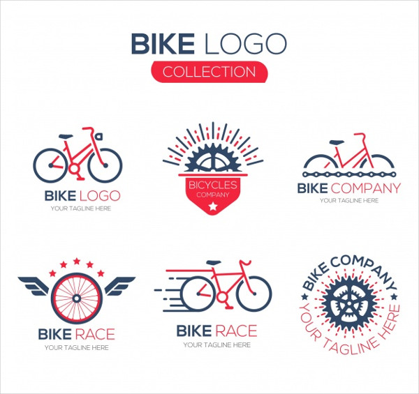 Collection of Bicycle Logos Free