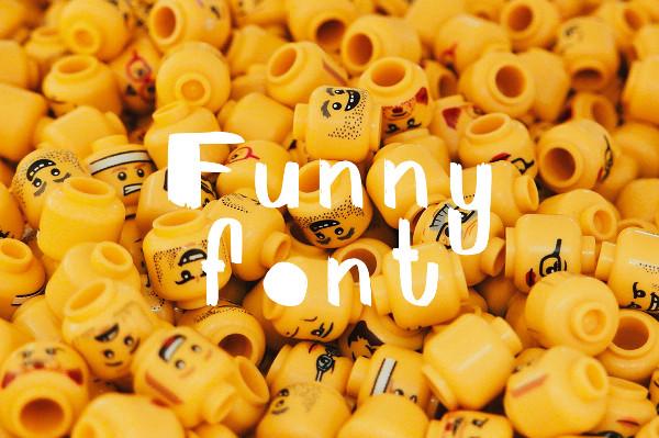Cool Funny Font