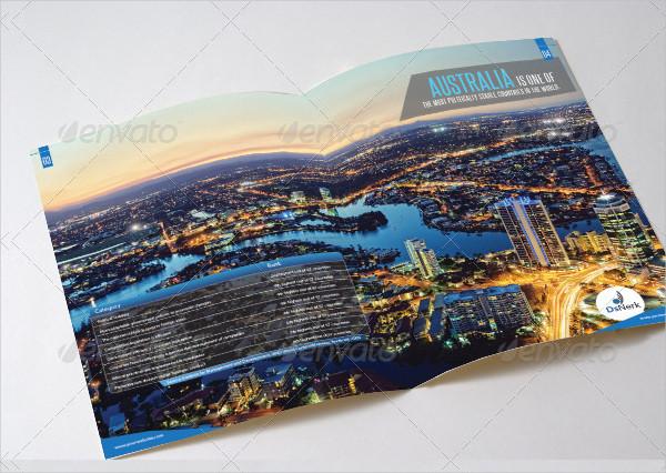 Cool Informational Brochure Design