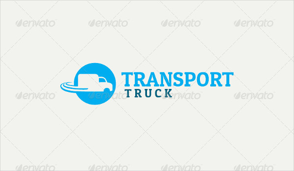 Cool Truck Logo Template