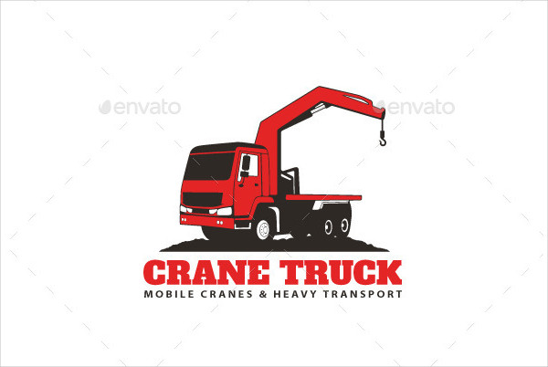 Ready for Print Crane Logo Template