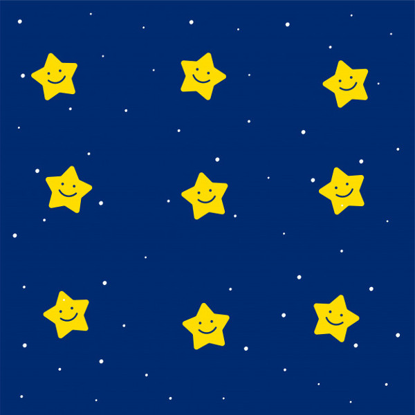 Cute Stars Pattern for Kids Free Download