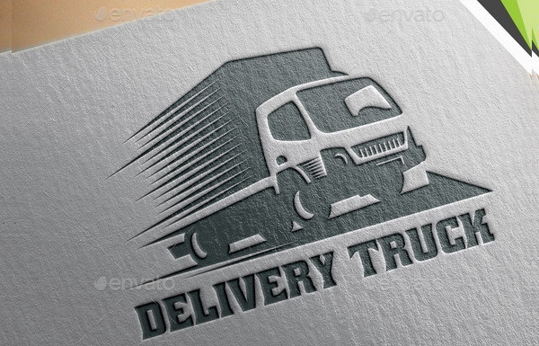 Delivery Truck Logo Design