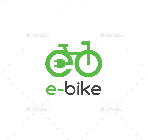 Electric Bike Logo Template