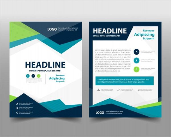 Free Download Information Brochure Template