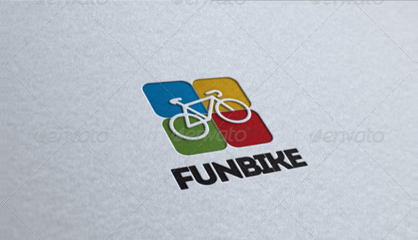 Fun Bike Logo Design