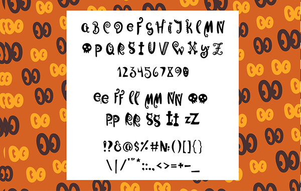 Funny Halloween Fonts